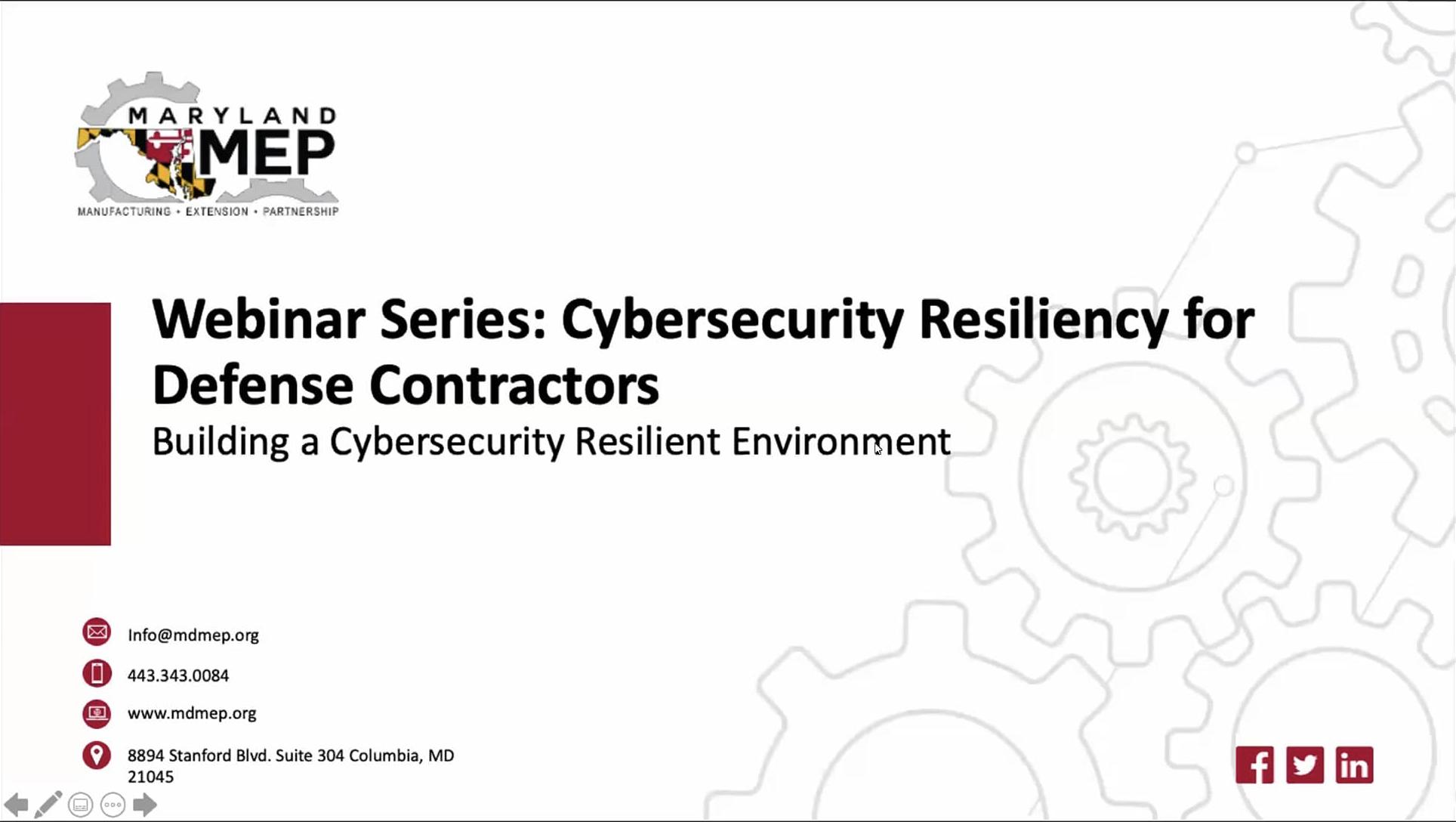 CyberResliency-BuildingResilientEnvironment